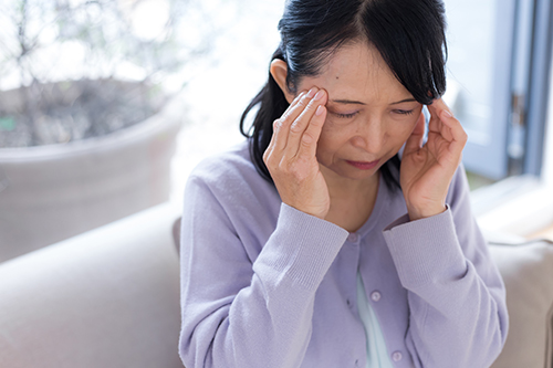 頭痛、めまいなどが起こる方